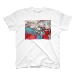 あかいおはな T-shirts