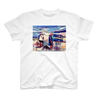 うみにとける T-shirts