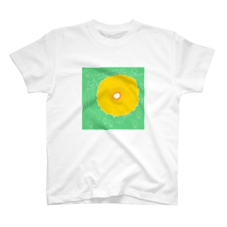 Cat & Flower T-shirts
