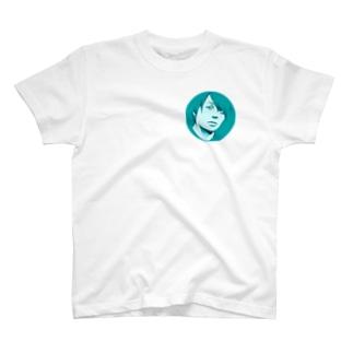 小山コータローの顔T T-shirts