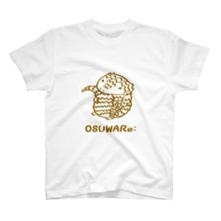 アルマジロトカゲくん T-shirts