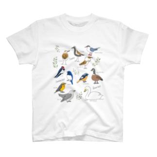 ワタリドリ(ロゴ無し) T-shirts