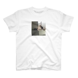 ねこ まど せん T-shirts