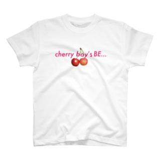 cherry boy's BE・・・ T-shirts
