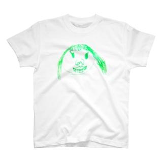 momocogahaku_01 T-shirts
