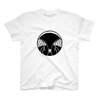 家紋風モグラ T-shirts