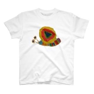 わーゆーかたつむり ーのーまるー T-shirts