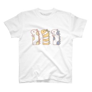 チンアナゴザウルス T-shirts
