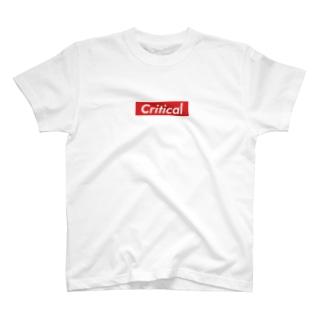 クリティカル T-shirts