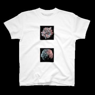 tohのBurning Sphere T-shirts