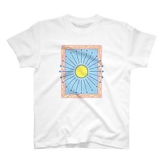 がくのなかの世界 はれ T-shirts