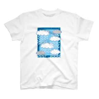 がくのなかの世界 あめ T-shirts