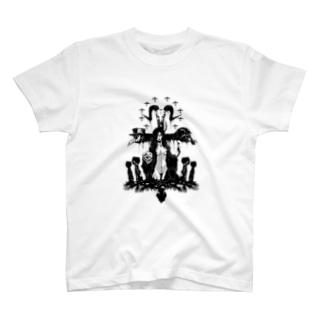 人類の墓標 T-shirts