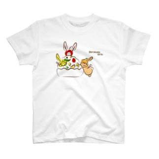 しろくまガールズ T-shirts