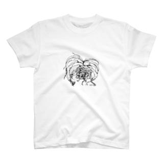 suprafoliata(スプラフォリアータ) ボタニカルアート T-shirts
