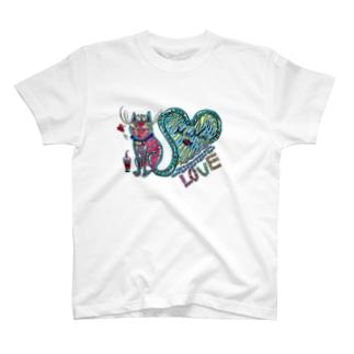 猫の神様 T-shirts