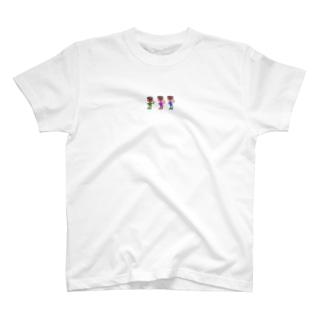 HANA-HANAのgu=cheese T-shirts