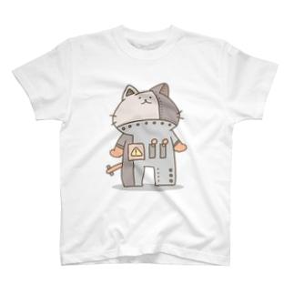茶ロボにゃん T-shirts