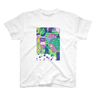 composition:アンキロサウルス T-shirts