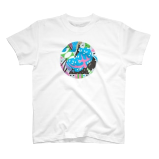 composition:プロトケラトプス T-shirts