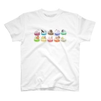 ウサベビマカロン T-shirts