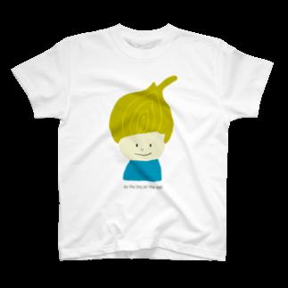 Zakuro-KayokoKawataのタマネギ坊や T-shirts