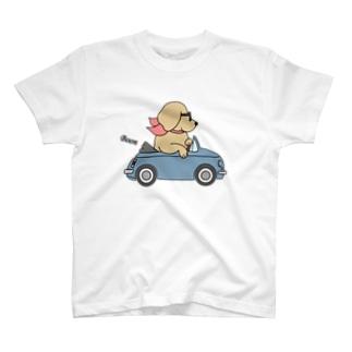 カブリオレ(両面) T-shirts