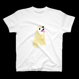 minn0eのアメリカンコッカースパニエル T-shirts
