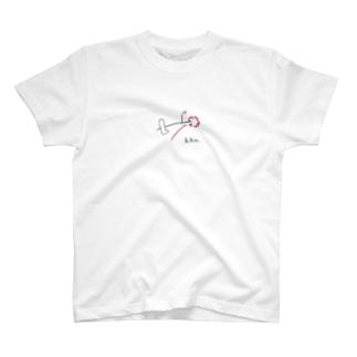 時代をまたぐ足 T-shirts