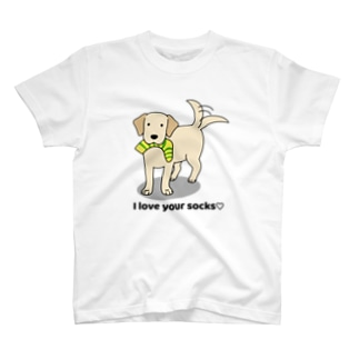 ラブソックスイエロー T-shirts