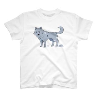 換毛期の犬ver2 T-shirts