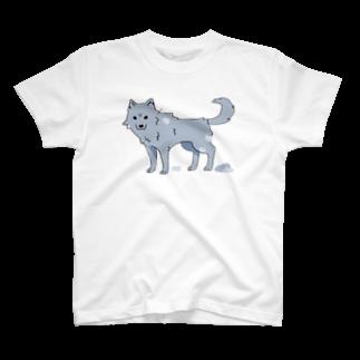 骨犬工房の換毛期の犬ver2 T-shirts