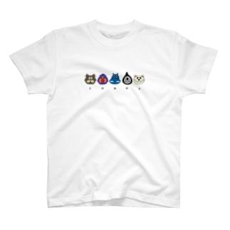 ZOMOZフェイス カラー T-shirts