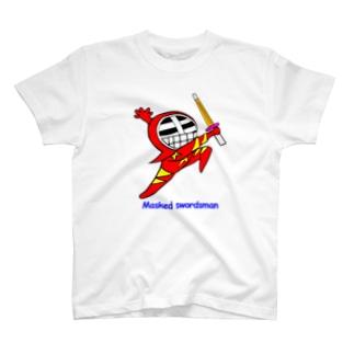 マスクド・レッド T-shirts