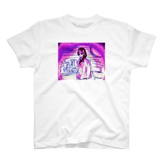 ミッドナイトさん T-shirts