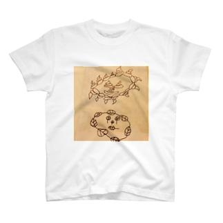 UNCHI KUN and HATTPA KUN T-shirts