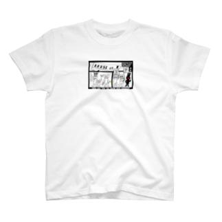 ぱんちHOD30 square T-shirts