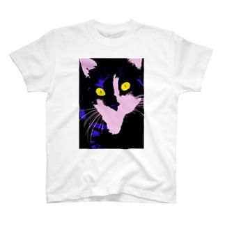 夢中な猫様  T-shirts