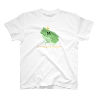 カエルの王子様 T-shirts