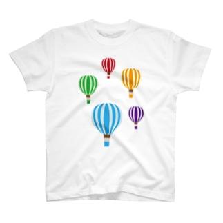 気球 T-shirts