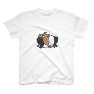 いのししばくさん T-shirts
