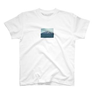 利尻富士のスマホケース T-shirts