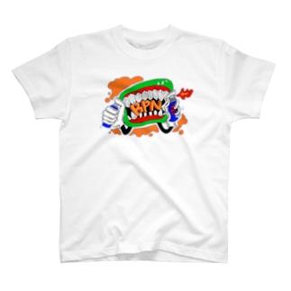 BPNロゴ 青 T-shirts