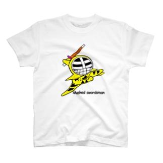 マスクド・イエロー T-shirts