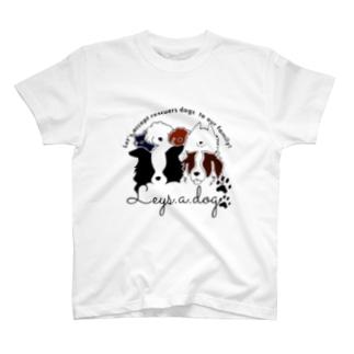 leys.a.dog〜チャリティーグッズ〜 T-shirts