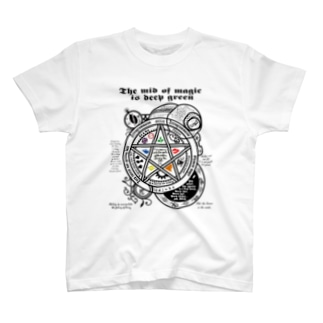 The mid of magic 魔法陣 T-shirts