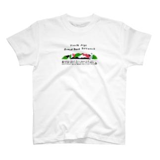 2020版公式グッズ(加盟山小屋全部入り) T-shirts