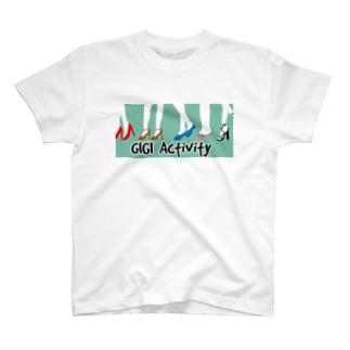 【CHINSHIBA】GIGI Activity T-shirts