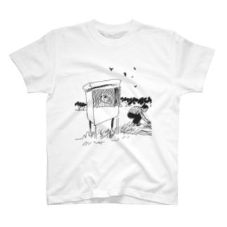 小屋 T-shirts