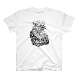 こもだる蔵書票 T-shirts